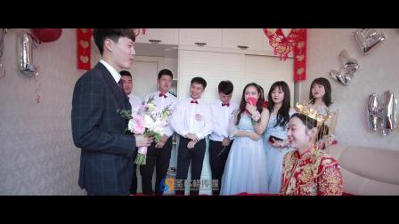 2019.9.26罗宇航&赵悦彤 【婚礼快剪】圣名格传媒