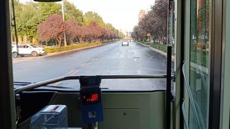 【安阳公交】14路【纱厂→安阳工学院(全程乘坐)】车型:比亚迪K9KA