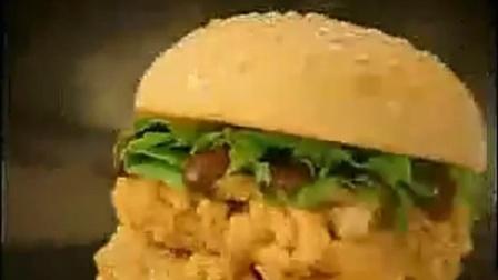 肯德基广告---莫利双层鸡腿堡