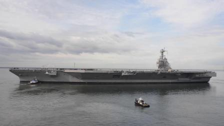 杰拉德·R·福特号航空母舰(CVN-78)试航检修后再度进行海试