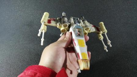 钟爱评测 变形金刚 第520期 星球大战变形金刚联名卢克天行者X翼战机