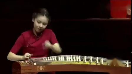 【古筝】央央、吴昊《大漠行-片段》(2017天津古筝春晚)