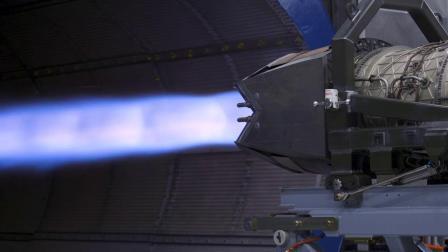 阿拉斯加埃尔门多夫-理查德森联合基地F-22战机F119-PW-100发动机试车