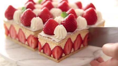 草莓蛋糕的制作方法:Christmas蛋糕 |HidaMari Cooking