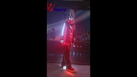 湖南未来创意达人秀LED发光服团体舞蹈演出 WL-195A.mp4