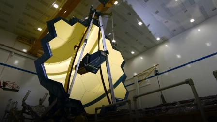 詹姆斯·韦伯太空望远镜主镜展开测试