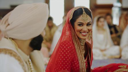 英国婚礼,新娘是模特超美 Sunpreet & Ramandeep
