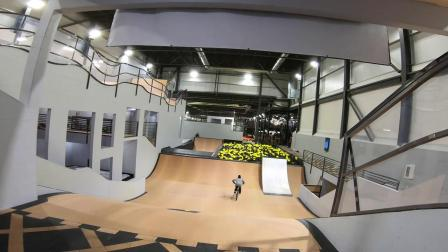 Riding Woodward's Insane Indoor Bike Park with Semenuk and Friends