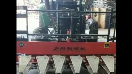 SH-180型玉米秸秆割晒机玉米秸秆收割机视频