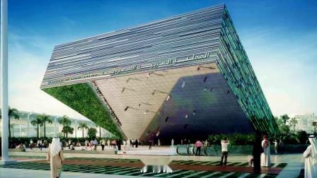 迪拜世博会展馆先睹为快