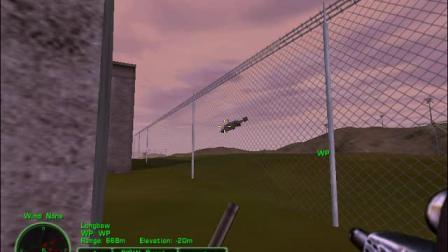 三角洲特种部队3大地勇士彩蛋之三架武装直升机追杀主角