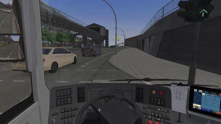 【巴士模拟2】#1:驾驶沃尔沃7900Hybrid运行于111路(Bf. Altona —Shanghaiallee (Ank. 1)) | OMSI 2