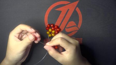 五珠圈球 手工diy串珠制作教程 集智好来屋