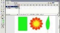 FLASH8高级编程31制作花朵-建立影片剪辑