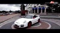 保时捷Porsche 997 Carrera改装Fi全段可变阀门排气管赛车排气声浪视频