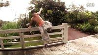 【阿凡跑酷】MF跑酷训练裤 2013款 GUP范 宽松  跑酷裤子训练演示视频