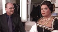 《安娜·波莱娜》ANNA BOLENA,访谈 I[Met 2011,英文字幕]