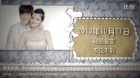 婚纱照电子相册 婚礼开场MV 结婚迎宾视频 情侣照相册 爱.成长