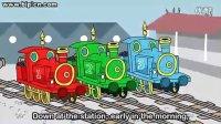 儿童英语 英语儿歌 小火车 纯正美式发音