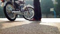 嘉陵70JH70改110cc装车测试(不含电器设备) -1