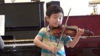 小提琴 土耳其进行曲 完整版-李映衡(6岁)