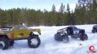 RC探险- 遥控攀爬车疯狂暴力4X4大脚怪 雪地挑战越野极限 part1【高清】