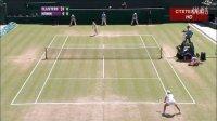 2010温布尔登网球锦标赛女单R4 克里斯特尔斯VS海宁 (自制HL)