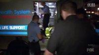 美国亚特兰大警察抓捕潜逃的壮汉,真是速度与激情啊