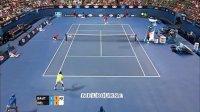 2014 澳大利亚网球公开赛 第二轮 阿古特 VS 德尔波特罗