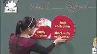 【阅读课教学】_Friend._全国小学英语获奖课例 许老师