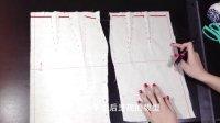 鹿晓鸥 服装设计《立体裁剪》NO.3 原型裙2