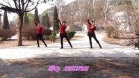 林州雪儿广场舞《光芒》(含正背面分解)033