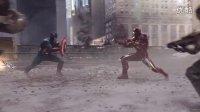 复仇者联盟长镜头大战 黑寡妇钢铁侠美队鹰眼雷神绿巨人