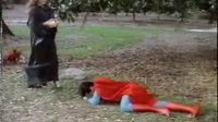 超人被女魔头折磨后被抓