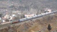 宝成线 北京西 - 成都 天府之星T7次列车通过两当车站