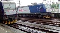 铁路纪实:杭州城站 K465出站 儿童节拍车