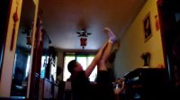 我的家庭腹肌锻炼动作组合