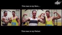 老爸在儿子的帮助下一年半减肥120磅的感人故事