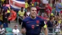 【2014世界杯】荷兰5-1西班牙  进球集锦