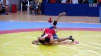 2014全国青年男子自由式摔跤 60KG 广东VS内蒙