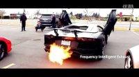 PUR兰博基尼 Aventador LP700改裝Fi Exhaust排气管在温哥华喷火啦!