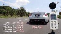 丰田TOYOTA 86 改裝Fi Exhaust 排气管 怠速加速聲浪分贝测试!