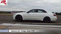 Mercedes E63 AMG 4matic vs. Dodge Viper GTS (0-280kmh) DRAG