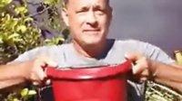 "「Mark」汤姆·汉克斯Tom Hanks响应""冰桶灌顶""ALS公益活动"