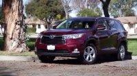 2015 丰田汉兰达7座 AWD SUV 北美试驾评测展示