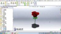 solidworks玫瑰花|solidworks造型设计【凯途教育】