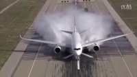 A350XWB宽体客机水摄入测试