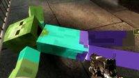 【小枫的Minecraft】求生之路2,碾压MC僵尸的黑色嘉年华。