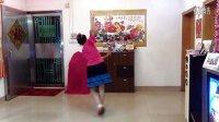 琼花业余舞集自创最新广场舞:兰花草背面演示