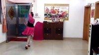 琼花业余舞集自拍改版:广场舞美丽的草原我的家背面演示